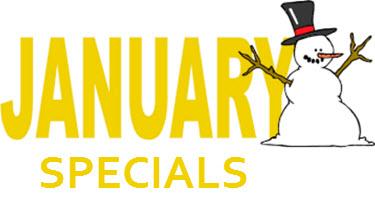January Massage Specials