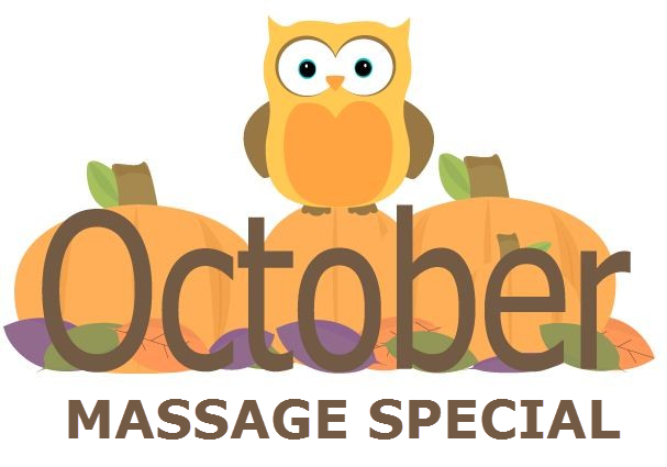 October massage special