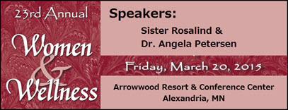 women & wellness event march 20th 2015