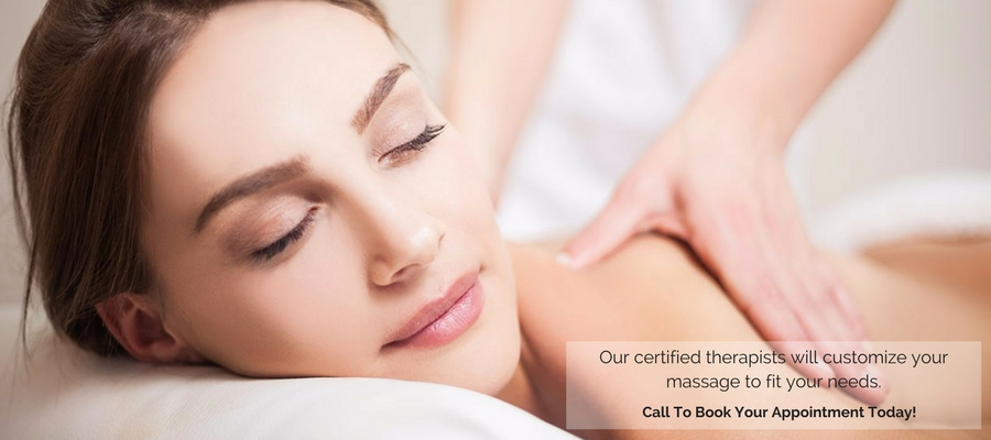 Our certified therapists will customize your massage to fit your needs.